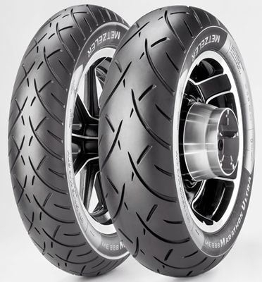 Custom moottoripyörän rengas Metzeler