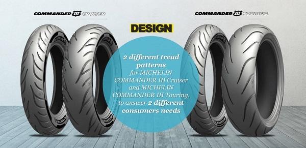 Michelin Commander uudet rengasmallit 2020